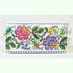 Palestinian Embroidery, Diy Flowers, Folk, Cross Stitch, Costumes, Red Blouses, Cross Stitch Borders, Necklaces, Bugle Beads