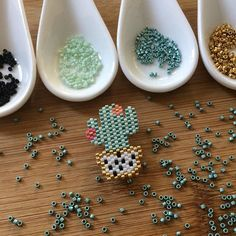 Seed Bead Jewelry, Seed Beads, Miyuki Beads, Cactus, Brick Stitch, Cops, Beadwork, Beading, Flora