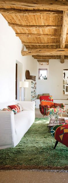 Abitare Interiorismo / Blog / casas mediterráneas / http://abitaredecoracionblog.com/decoracion-rustica-casas-mediterraneas/