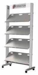 PRESENTOIRE METALIQUE Metal Shelves, Ladder Bookcase, Diy, Home Decor, Furniture, Decoration Home, Bricolage, Room Decor, Metal Storage Shelves