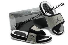 Cheap Air Jordans 14 Massage Slippers Green/Black/White