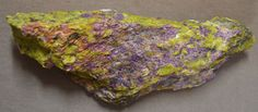 Purple Stichtite in Green Serpentine Dundas Tasmania Australia 11.5 ounces