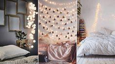 Inred med ljusslingor i sovrummet – 7 tips