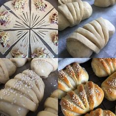 Dessert Drinks, Dessert Recipes, Bread Shaping, Lunch To Go, Bread And Pastries, Sweet And Salty, Diy Food, No Bake Cake, Great Recipes