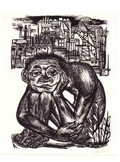 woodengraving, Lou Strik