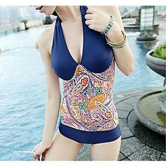 Women's Fashion Color Design Conjoined Sexy Style Nylon and Spandex One-Piece Swimsuit    – USD $ 23.09