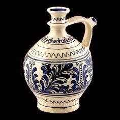Romania Pottery, Keramik, Ceramique, Ceramica: Transylvania: Korund, Corond… Romania Travel, The Beautiful Country, Medieval Town, Central Europe, Delft, Best Memories, Carafe, Ceramic Pottery, Folk Art