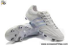 Discount Adidas Adipure 11Pro TRX FG Running White-White-Black Football Shoes On Sale