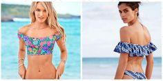 Ciganinha é uma das Tendências da moda praia 2018