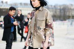 Leigh Lizard in Valentino | PFW