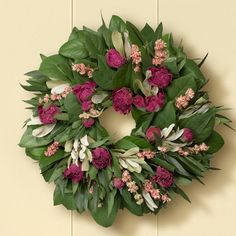 Peony (my favorite flowers!) Wreath for spring!