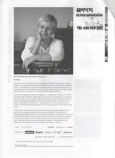 Reportaje de nuestra autora María Luisa Picado