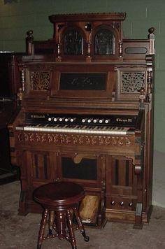 Kimball Victorian Parlor Organ | The Antique Piano Shop