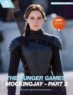 New still of Jennifer Lawrence as Katniss Everdeen in Mockingjay Part 2
