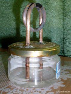 Self Pressurizing Chimney Type Alcohol Stove Survival