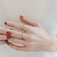 vrai and oro rings