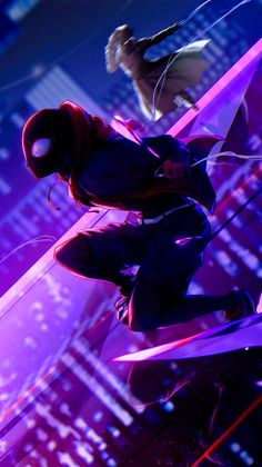 Miles Morales - Ultimate Spider-Man, Into the Spider-Verse Miles Spiderman, Spiderman Girl, Miles Morales Spiderman, Spiderman Spider, Amazing Spiderman, Marvel Comic Universe, Marvel Art, Marvel Avengers, Spider Men