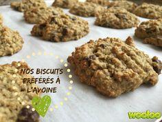 Mes biscuits à l'avoine préférés!