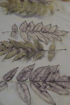 Növényi festés és ecoprint - ballagemma