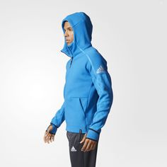 Adidas Tracksuit bukse blå, XS (Produktdetaljer) [Fighter