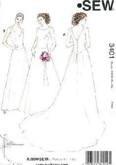 Wedding Dress Patterns On Pinterest Wedding Dress