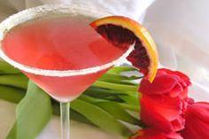 Cranberry Martini!   1-1/2 ozs Vodka  1/2 oz orange liquer  1/2 oz dry vermouth  3ozs cranberry juice