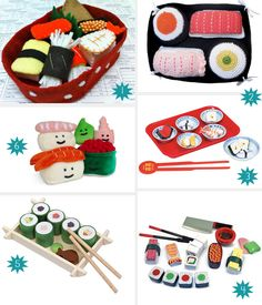 Even Though My Kids Wouldnu0027t Touch Sushi I Know They Would Play With It