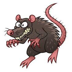 Evil rat photo