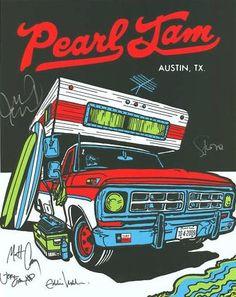 Pearl Jam, Austin Texas...Ames Bros