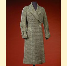 Chanel Wool Tweed Ensemble  French, late 1920's/early 1930s