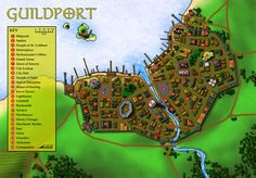 fantasy map maps coastal town west cartography very christopher dungeon magazine cities rpg campaign medieval dungeons depicts felt portfolio uploaded