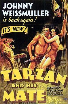 Roger Ebert calls Tarzan the most durable character in Hollywood history. What's more, the creation of Tarzan 100 years ago this month, was a remarkable milestone in global culture. This story by Stephanie Fenton explains all sorts of fascinating ways that Tarzan has shaped our world, including how the nude scenes in this famous Tarzan and His Mate movie rocked Hollywood: http://www.readthespirit.com/religious-holidays-festivals/tarzan-king-of-the-jungle-swings-into-his-centennial.html