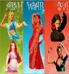Bollywood Dance: Aishwarya's Popular  Dance Tracks