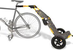 Burley Travoy®<トラヴォイ> Bike Cargo Trailer(色:イエロー)日本のサイクリストが今最も注目するポータブル・トレーラー、Travoy。自転車トレーラーの歴史を変えたBurleyの逸品、安定した走行性能、秀逸なデザインと折畳性能。職場持込可能、バス・電車・飛行機内持込可能。ユーロバイク展金賞受賞作品。