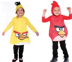 Angry Birds Costume – $13 #cool #wear #suit #kids #funny #party #yellow #red