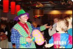 zabawy z klaunem