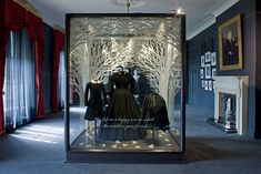 """Kensington Palace was opened by Queen Elizabeth in March after a three year renovation project. The exhibition """"Victoria Revealed', designed by OPERA, captures the heart breaking story of Queen Victoria."""