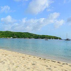 Off-the-beaten path Martinique: Gorgeous Grande Anse beach