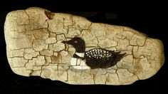 Driftwood Loon Painting