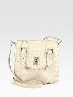 Marc by Marc Jacobs - Inter Ozzie Ostrich Stamped Mini Shoulder Bag