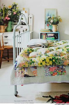 cottage-ish bedroom: fresh & bright