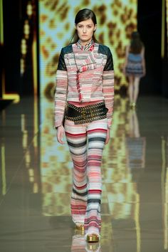 Just Cavalli S/S 15 Takes Hippie-Chic to Whole New Levels via @WhoWhatWear