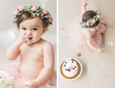 New Party Girl Photoshoot Cake Smash Ideas First Birthday Photography, 1st Birthday Photos, Baby Girl First Birthday, First Birthday Parties, Birthday Ideas, First Birthday Crown, Smash Cake Girl, Birthday Cake Smash, Cake Smash Photography