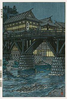 Uzen-Akakura  by Shiro Kasamatsu, 1954