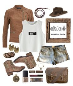 """Adventure's Girl"" by ari-ari-xoxo ❤ liked on Polyvore featuring Ella Rabener, Current/Elliott, Mojo Moxy, Stephen Dweck, Lucky Brand, Patricia Nash, Urban Decay, NARS Cosmetics, Rimmel and LORAC"