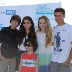 "Photos: August Maturo Had Fun With His ""Girl Meets World"" Family"