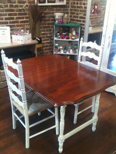 Vintage Dining Room Furniture With Formica Or Enamel