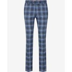 Pants Hank in dark blue checkered Joop - Modern