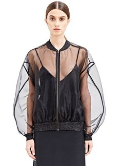 Ӧhlin/D Oversized Organza Bomber