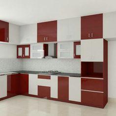 Kitchen Cupboard Designs, Cheap Kitchen Cabinets, Kitchen Room Design, Diy Kitchen Storage, Best Kitchen Designs, Home Decor Kitchen, Interior Design Kitchen, Design Living Room Wallpaper, Kitchen Modular